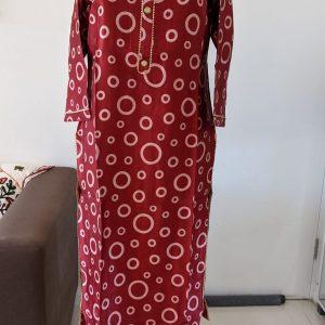 Gaji Silk Kurti – Size 44