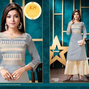 Silk Sharara Suit – Size 42