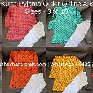 Boys Kurta - Size 3