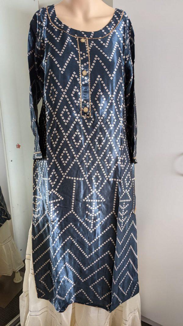 Buy Gaji Silk Kurti Onliine - Australia - Size 38 to 44