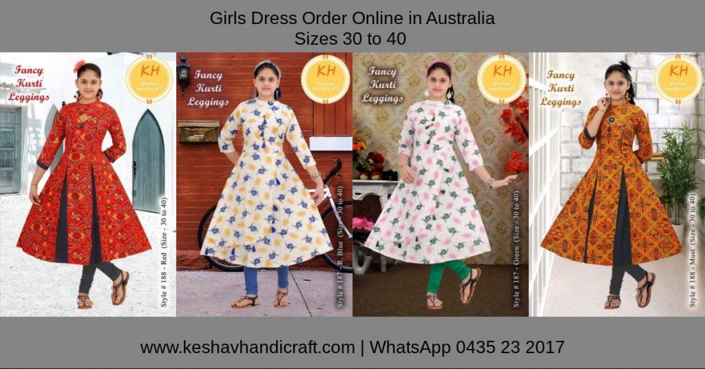 Girls Dresses Order Online in Australia